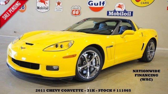 2011 Chevrolet Corvette Z16 Grand Sport w/3LT HUD,NAV,HTD LTH,CHROME WH...