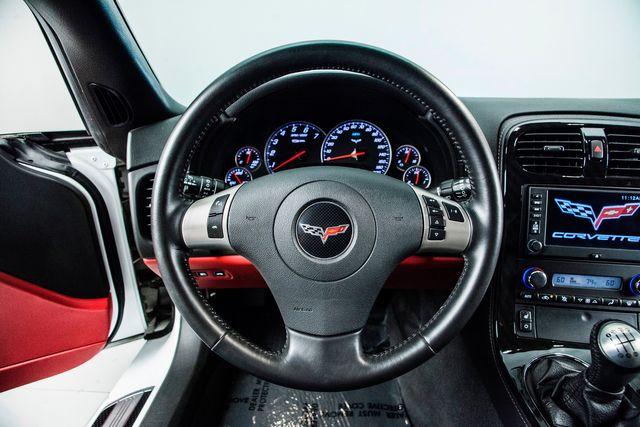 2011 Chevrolet Corvette Z06 2LZ In Arctic White in Carrollton, TX 75006