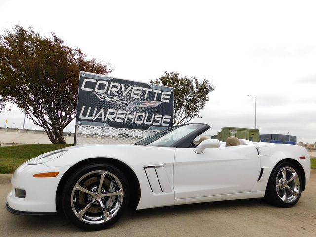 2011 Chevrolet Corvette Z16 Grand Sport 3LT, F55, NAV, NPP, Chromes 16k in Dallas, Texas 75220
