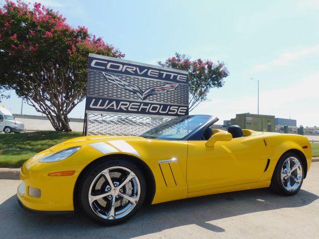 2011 Chevrolet Corvette Z16 Grand Sport 4LT, NAV, NPP, Auto, Chromes 10k