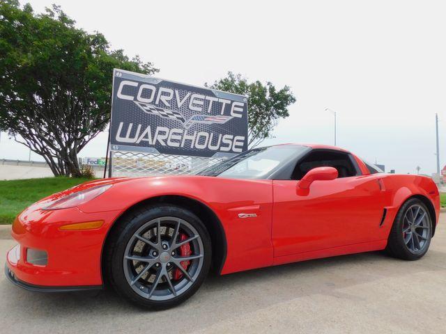 2011 Chevrolet Corvette Z06 2LZ, NAV, FE4, Competition Gray Alloys 17k