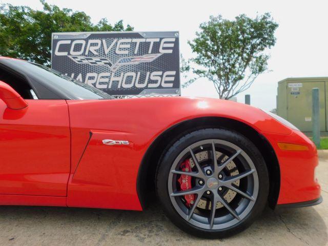2011 Chevrolet Corvette Z06 2LZ, NAV, FE4, Competition Gray Alloys 17k in Dallas, Texas 75220