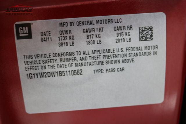 2011 Chevrolet Corvette Z16 Grand Sport w/3LT Edlebrock Supercharged Merrillville, Indiana 48