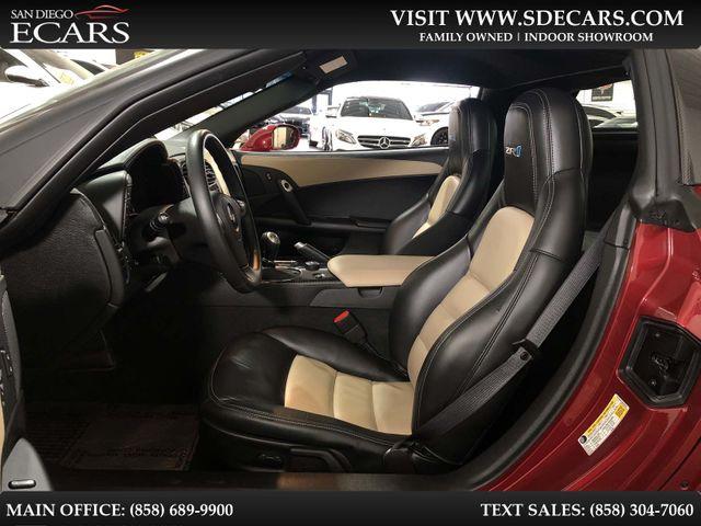 2011 Chevrolet Corvette ZR1 w/3ZR in San Diego, CA 92126