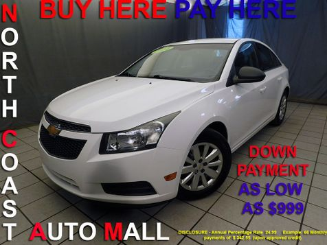 2011 Chevrolet Cruze LSAs low as $999 DOWN in Cleveland, Ohio