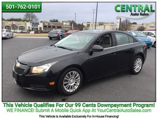 2011 Chevrolet Cruze ECO w/1XF | Hot Springs, AR | Central Auto Sales in Hot Springs AR
