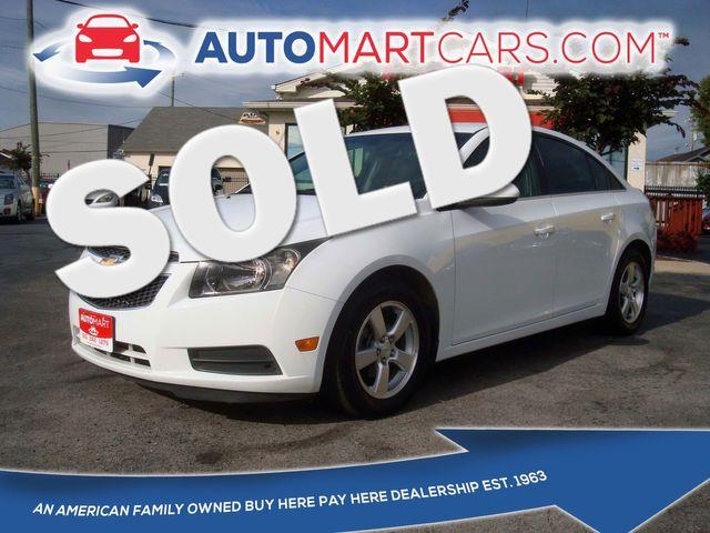 2011 Chevrolet Cruze LT w/1LT | Nashville, Tennessee | Auto Mart Used Cars Inc. in Nashville Tennessee