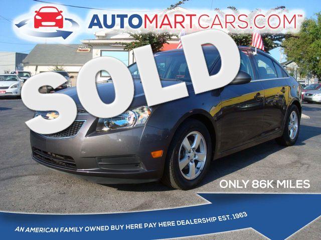 2011 Chevrolet Cruze LT w/2LT | Nashville, Tennessee | Auto Mart Used Cars Inc. in Nashville Tennessee
