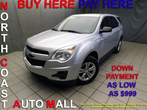2011 Chevrolet Equinox LSAs low as $999 DOWN in Cleveland, Ohio