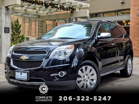 2011 Chevrolet Equinox LTZ All Wheel Drive Local 2 Owner Appearance Pkg Rear Camera Leather Heated Seats  in Seattle