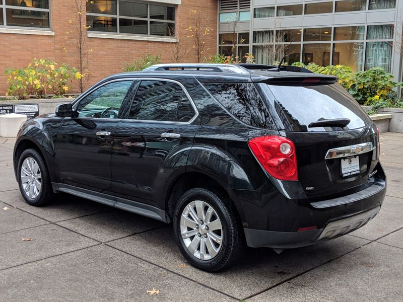 2011 Chevrolet Equinox LTZ All Wheel Drive Local 2 Owner Appearance Pkg Rear Camera Leather Heated Seats   city Washington  Complete Automotive  in Seattle, Washington