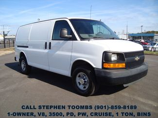 2011 Chevrolet Express Cargo Van 1-OWNER, V8, 1 TON, PD, PW, CRUISE, BINS in Memphis Tennessee, 38115