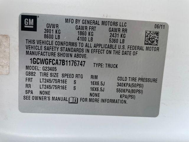 2011 Chevrolet Express Cargo Van Hoosick Falls, New York 7