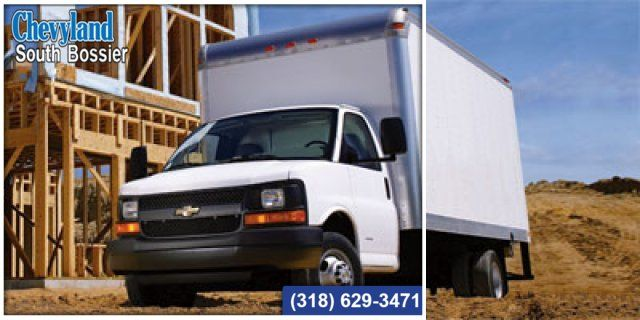 2011 Chevrolet Express Commercial Cutaway Work Van