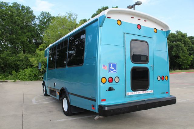 2011 Chevrolet Express G4500 13 Passenger   Champion Shuttle Bus W/ Wheelchair Lift Irving, Texas 8