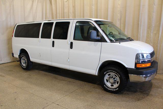 2011 Chevrolet Express Passenger 4x4 Conversion van 4x4