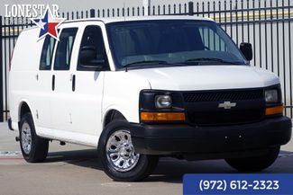 2011 Chevrolet G1500 Cargo Van Clean Carfax One Owner V6 Express in Plano Texas, 75093