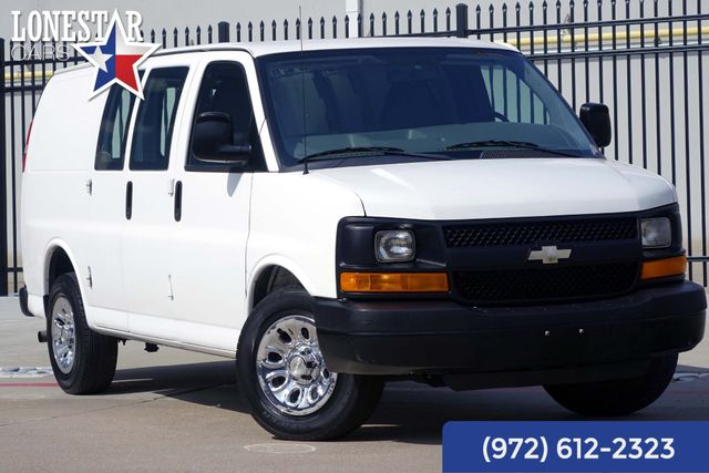 2011 Chevrolet G1500 Cargo Van Clean Carfax One Owner V6 Express