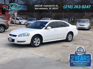 2011 Chevrolet Impala Police Sedan 4D Police in San Antonio, TX 78237
