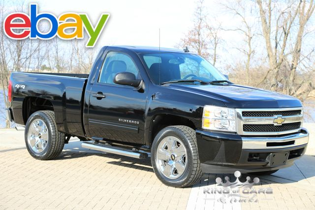 2011 Chevrolet Silverado 1500 5.3L V8 4X4 LT POWER OPTIONS REG CAB SHORT BED CLEAN!!