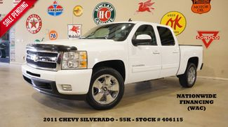 2011 Chevrolet Silverado 1500 LTZ NAV,REAR DVD,HTD LTH,CHROME 20'S,55K in Carrollton, TX 75006