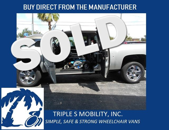 2011 Chevrolet Silverado 1500 Lt Wheelchair Pickup Truck Pinellas Park, Florida