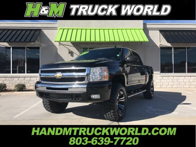 2011 Chevrolet Silverado 1500 LT *CREW-CAB*Z-71*LIFTED*20'' BLACK XD'S*SHARP