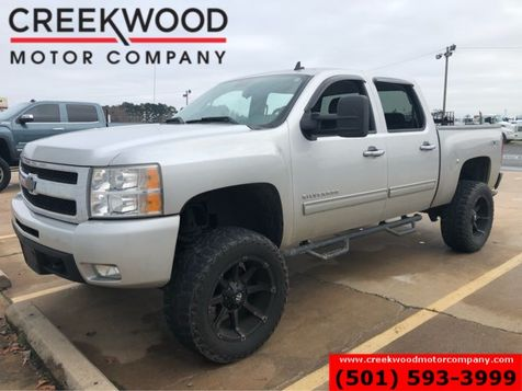 2011 Chevrolet Silverado 1500 LT 4x4 Silver Lifted Black 20s New Tires Low Miles in Searcy, AR