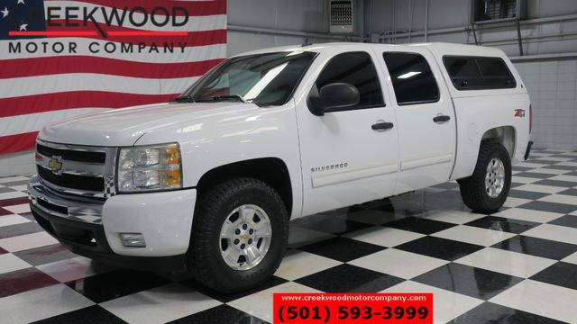 2011 Chevrolet Silverado 1500 LT 4x4 White New Tires Cloth Camper Shell CLEAN in Searcy, AR 72143