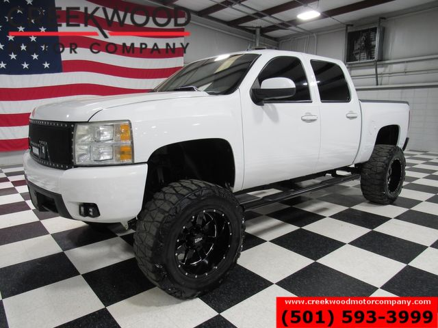 2011 Chevrolet Silverado 1500 LTZ 4x4 White Lifted Black 20s Nitto 37s Leather in Searcy, AR 72143