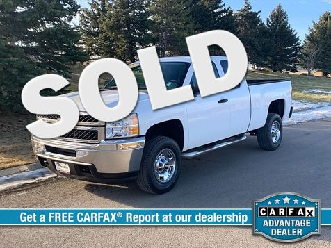 2011 Chevrolet Silverado 2500 4WD Ext Cab Work Truck in Great Falls, MT