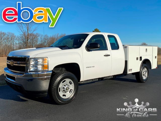 2011 Chevrolet Silverado 2500 4X4 EXT CAB W/T UTILITY 1-OWNER ONLY 43K MILES WOW