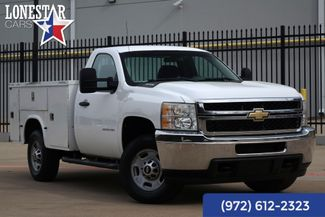 2011 Chevrolet Silverado 2500 W/T Utility Bed 4wd in Plano, Texas 75093