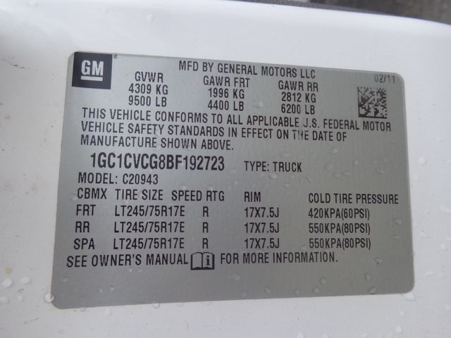 2011 Chevrolet Silverado 2500HD Work Truck Hoosick Falls, New York 7
