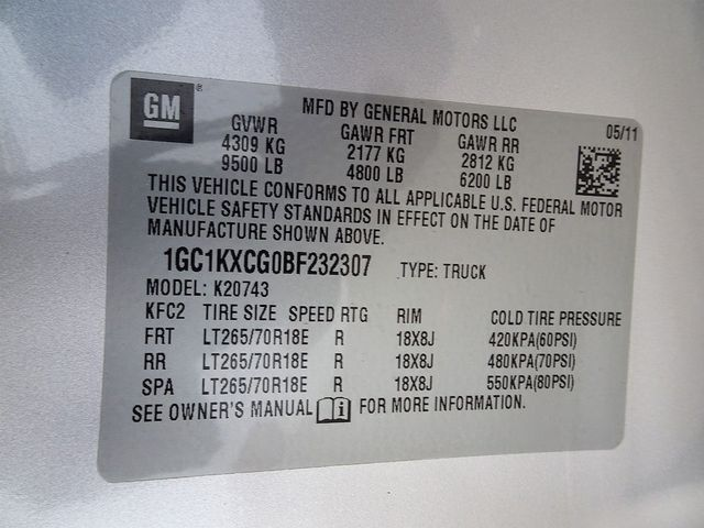 2011 Chevrolet Silverado 2500HD LT Madison, NC 52