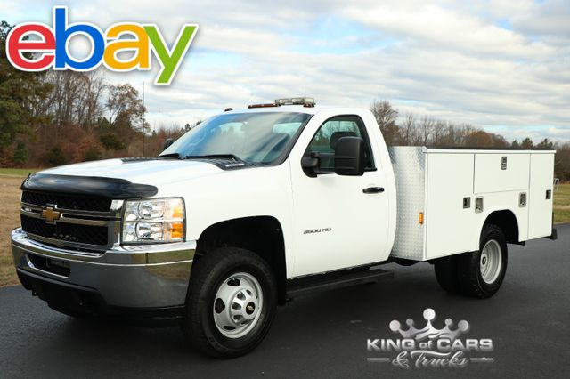 2011 Chevrolet Silverado 3500 READING DRW UTILITY BODY 36K MILES 4X4 in Woodbury New Jersey, 08096
