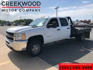 2011 Chevrolet Silverado 3500HD WT LT 4x4 Diesel Dually Utility Flatbed New Tires in Searcy, AR 72143