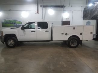 2011 Chevrolet Silverado 3500HD WT 66 Service Body  Crew 4x4  city ND  AutoRama Auto Sales  in Dickinson, ND