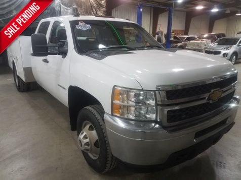 2011 Chevrolet Silverado 3500HD WT 6.6 Service Body  Crew 4x4 in Dickinson, ND