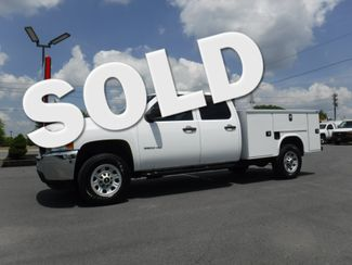 2011 Chevrolet Silverado 3500HD Crew Cab 4x4 with New 8' Knapheide Utility Bed in Lancaster, PA PA