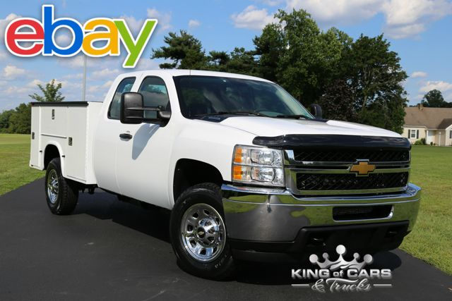 2011 Chevrolet Silverado 3500hd X-CAB UTILITY SERVICE LOW MILES 4X4 in Woodbury, New Jersey 08096
