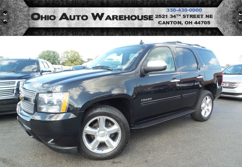 2011 Chevrolet Tahoe LT 4x4 Leather Sunroof 3rd Row V8 We Finance | Canton, Ohio | Ohio Auto Warehouse LLC in Canton Ohio