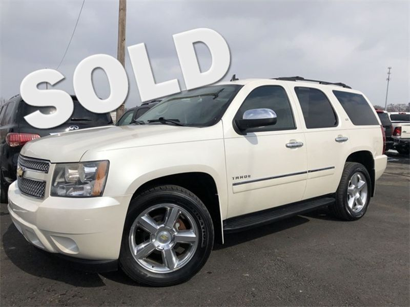 2011 Chevrolet Tahoe LTZ 4x4 Navi Tv/DVD 1-Own Cln Carfax We Finance | Canton, Ohio | Ohio Auto Warehouse LLC in Canton Ohio
