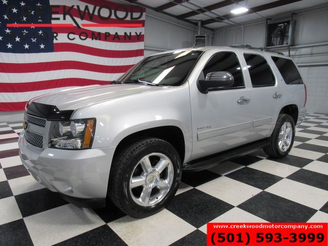 2011 Chevrolet Tahoe LT 4x4 Silver Chrome 20s Sunroof Tv Dvd Leather