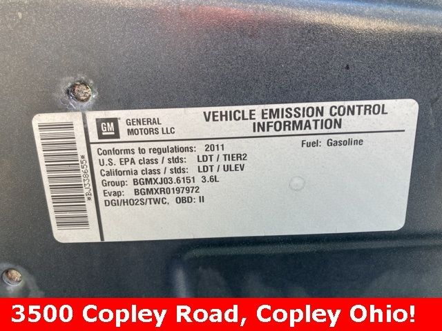 2011 Chevrolet Traverse 2LT in Medina, OHIO 44256