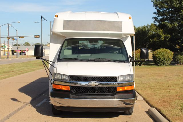 2011 Chevy Express G4500 Turtle Top 13 Passenger Shuttle Bus W/ Wheelchair Lift - Diesel Irving, Texas 58