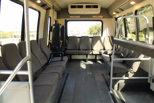 2011 Chevy Express G4500 Turtle Top 13 Passenger Shuttle Bus W/ Wheelchair Lift - Diesel Irving, Texas 12