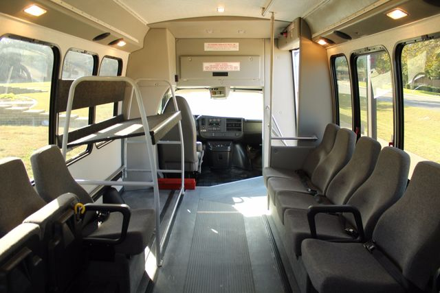 2011 Chevy Express G4500 Turtle Top 13 Passenger Shuttle Bus W/ Wheelchair Lift - Diesel Irving, Texas 20