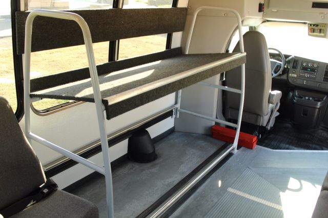 2011 Chevy Express G4500 Turtle Top 13 Passenger Shuttle Bus W/ Wheelchair Lift - Diesel Irving, Texas 22