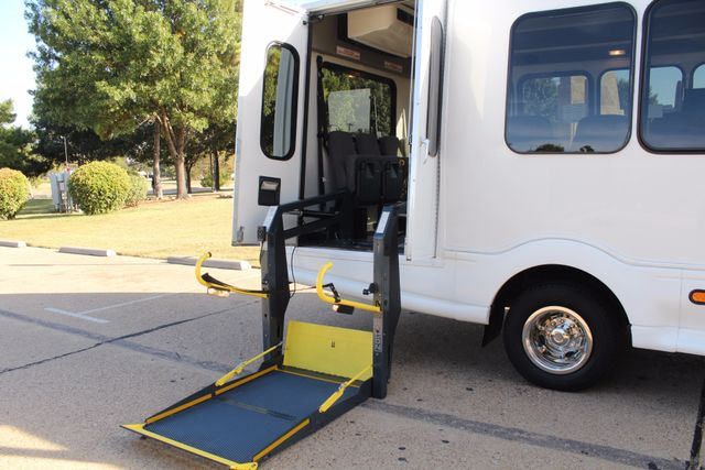 2011 Chevy Express G4500 Turtle Top 13 Passenger Shuttle Bus W/ Wheelchair Lift - Diesel Irving, Texas 45